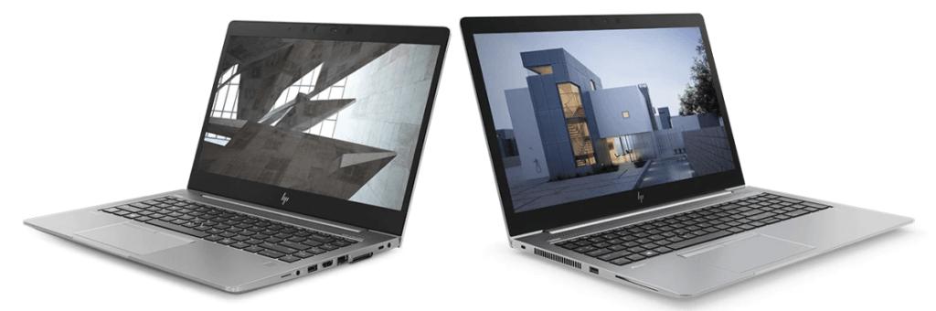 HP ZBook 14u y 15u