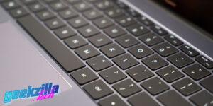 MAtebook 13 teclado