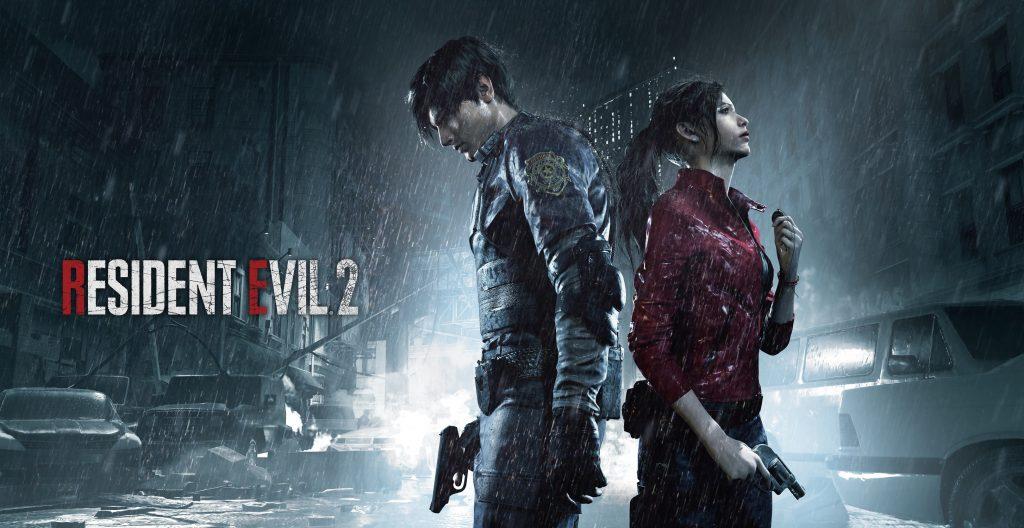 Leon y Claire en el remake de Resident Evil 2
