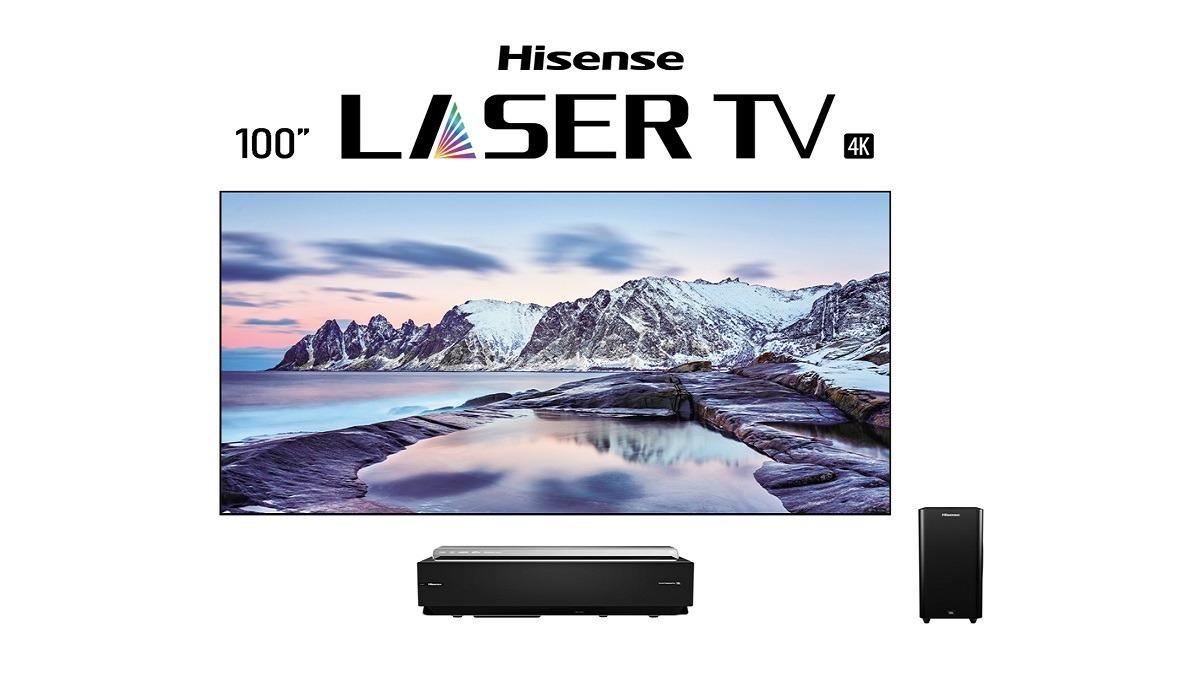 CES 2020: Hisense presenta pantallas de hasta 100 pulgadas con la  tecnologia Laser Cinema