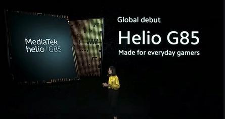 MediaTek revela la más reciente incorporación a la serie de chips para juegos con Helio G85