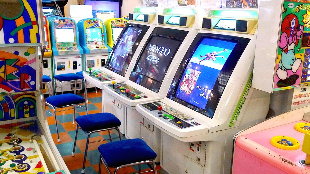 Fog Gaming Sega Astro City