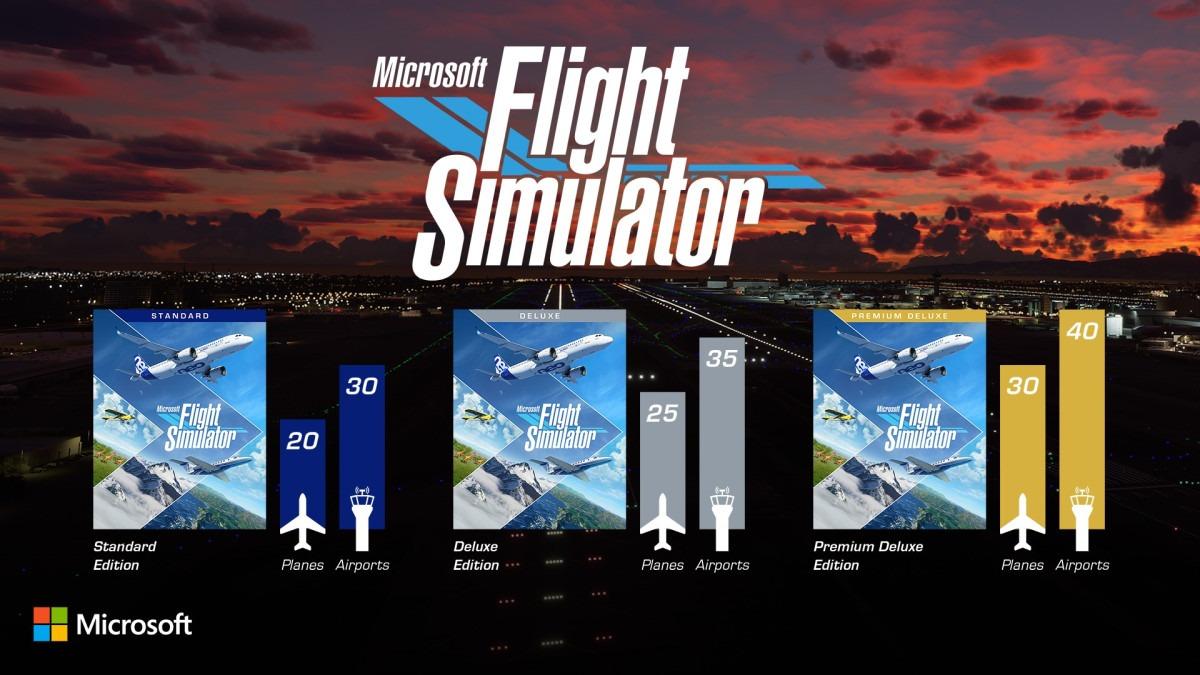 Microsoft Flight Simulator arrancará motores el 18 de agosto