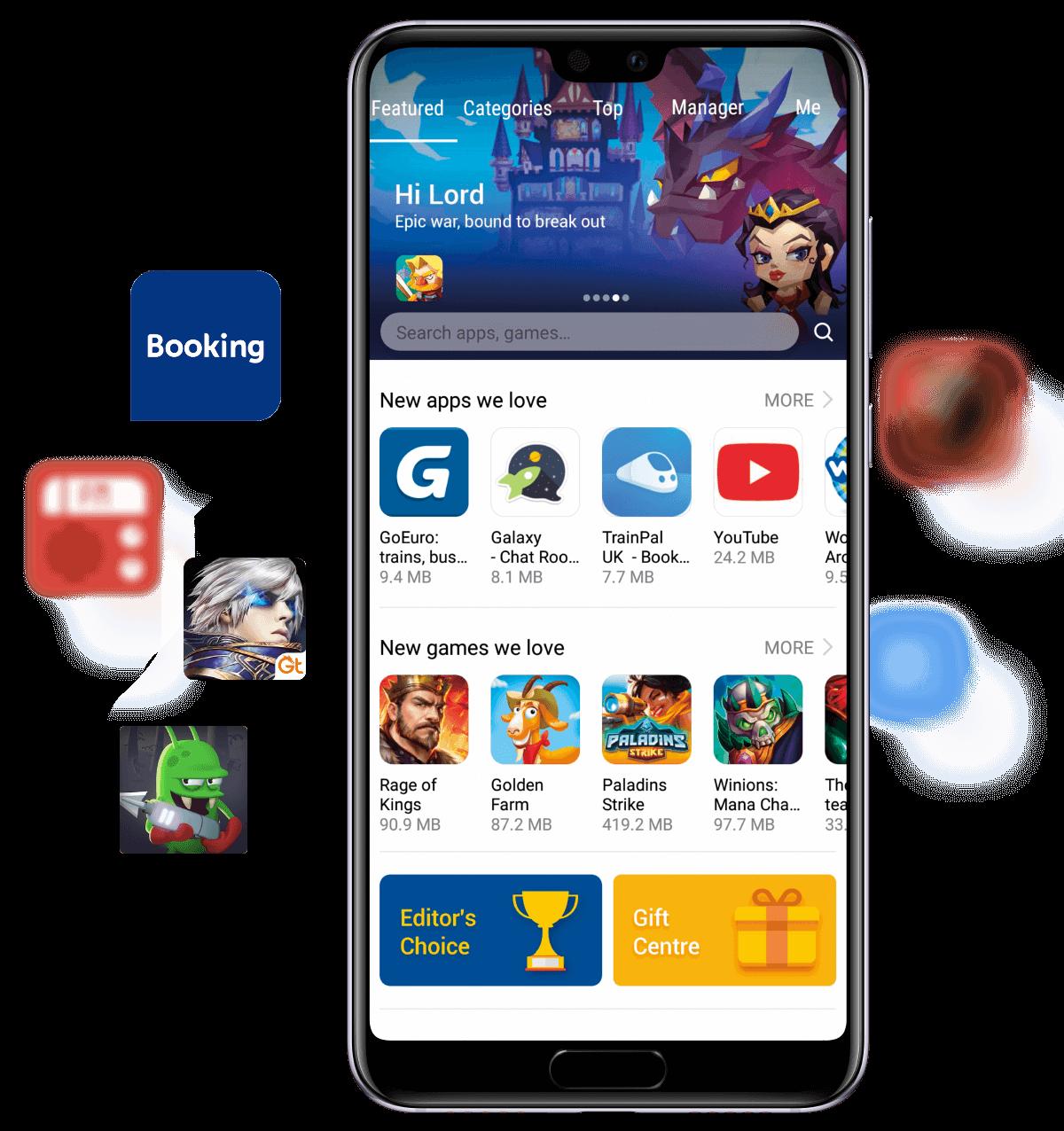 Llegan nuevas Apps a la AppGallery de Huawei!