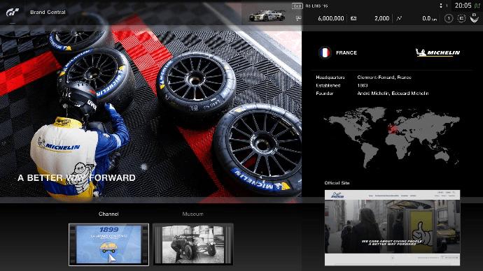 PlayStation y Michelin