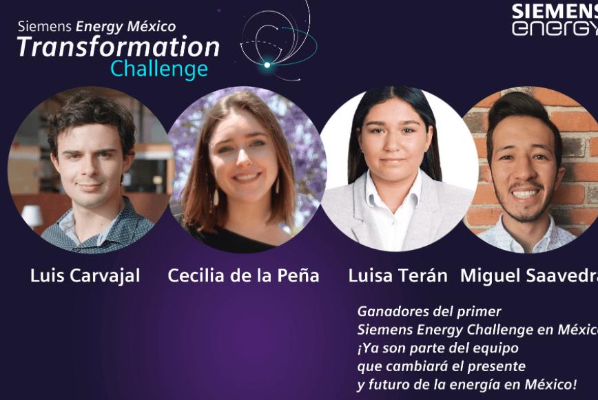 Siemens Energy: Los ganadores del Energy Transformation Challenge México