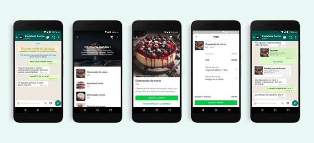 WhatsApp: Compras, pagos y atención al cliente mediante la app