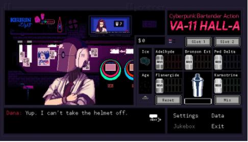 VA-11 Hall-A: Cyberpunk Bartender Action