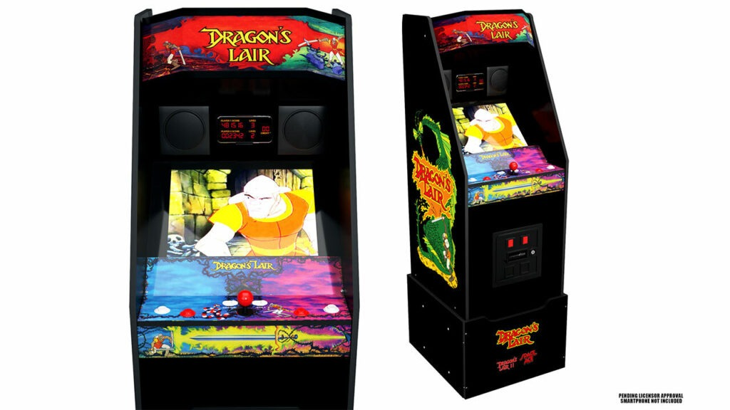 #CES2021 la querida maquinita de Dragons Lair está de regreso Arcade1Up