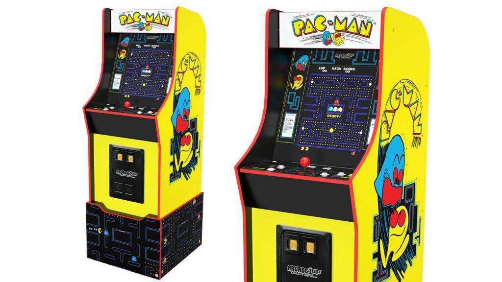 #CES2021 hermoso el mueble de Pac-Man Arcade1Up