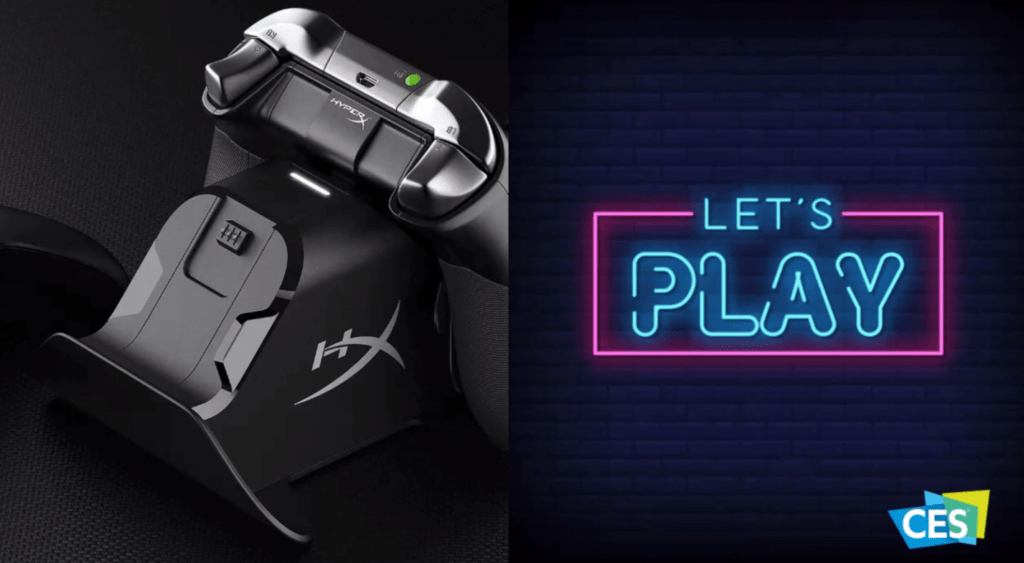 CES 2021 - HyperX ChargePlay Duo para Xbox
