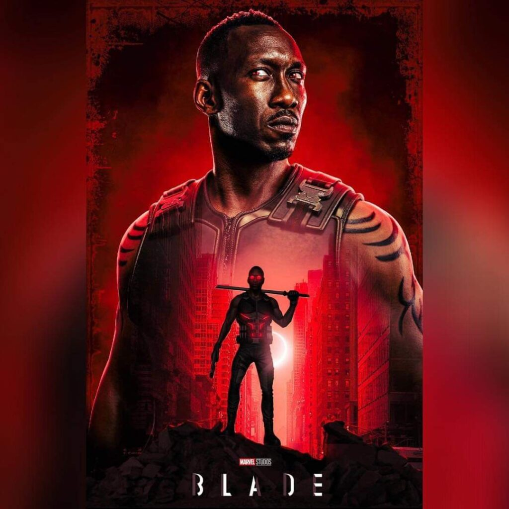 Poster de Blade, fans.