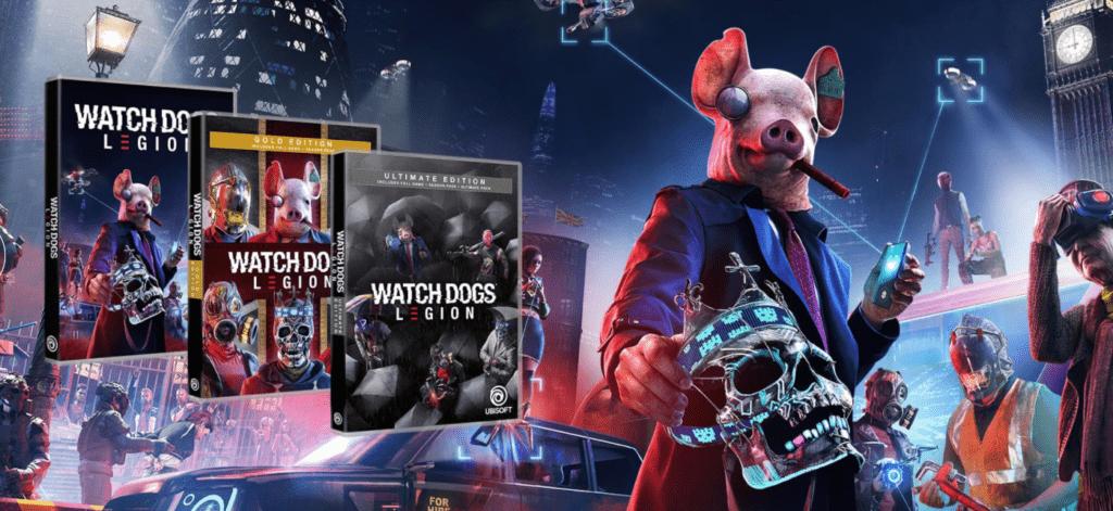 Modo online de Watch Dogs:Legion