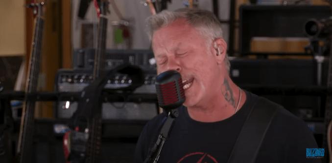 Metallica Blizzcon 2021