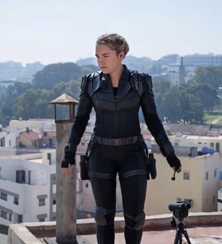 Debut como Black Widow en Hawkeye