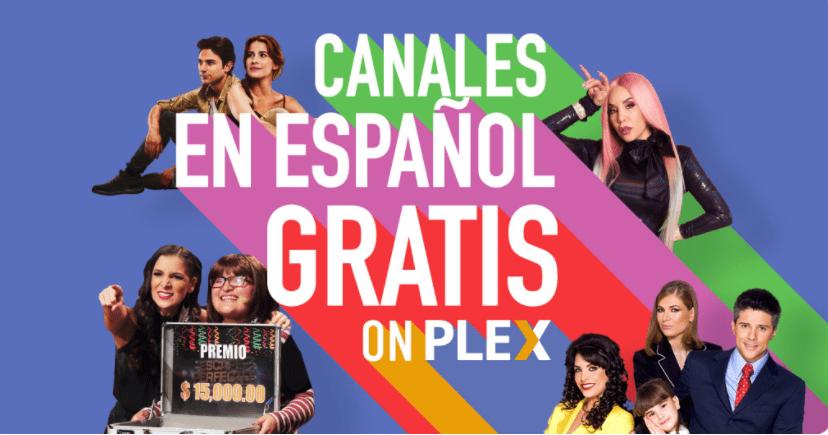 Canales en español Plex