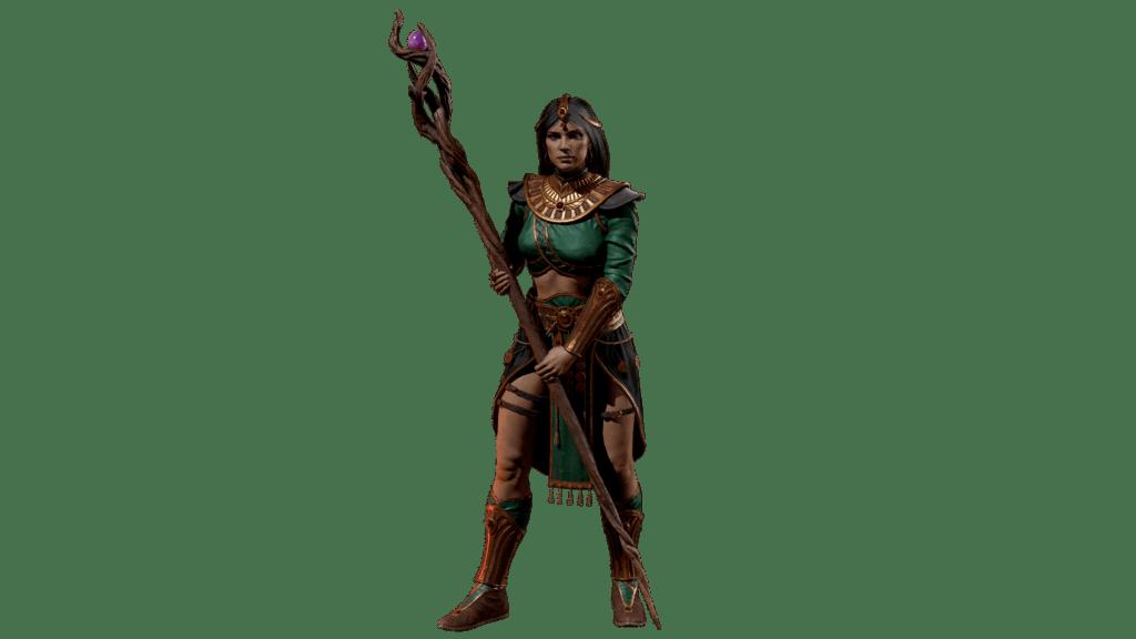 Hechicera  Alfa Técnica para PC de Diablo II: Resurrected