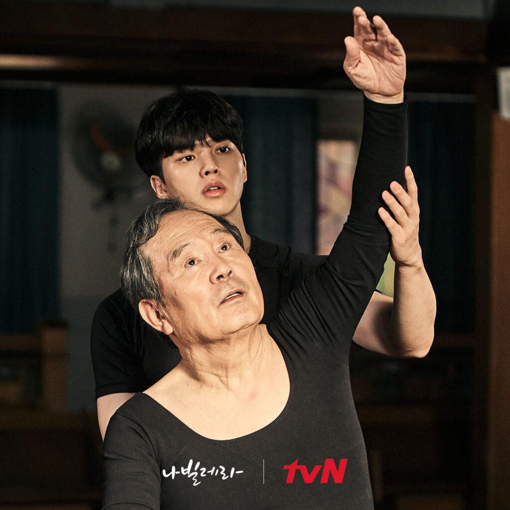 Navillera con Song kang estrena episodios los lunes y martes.