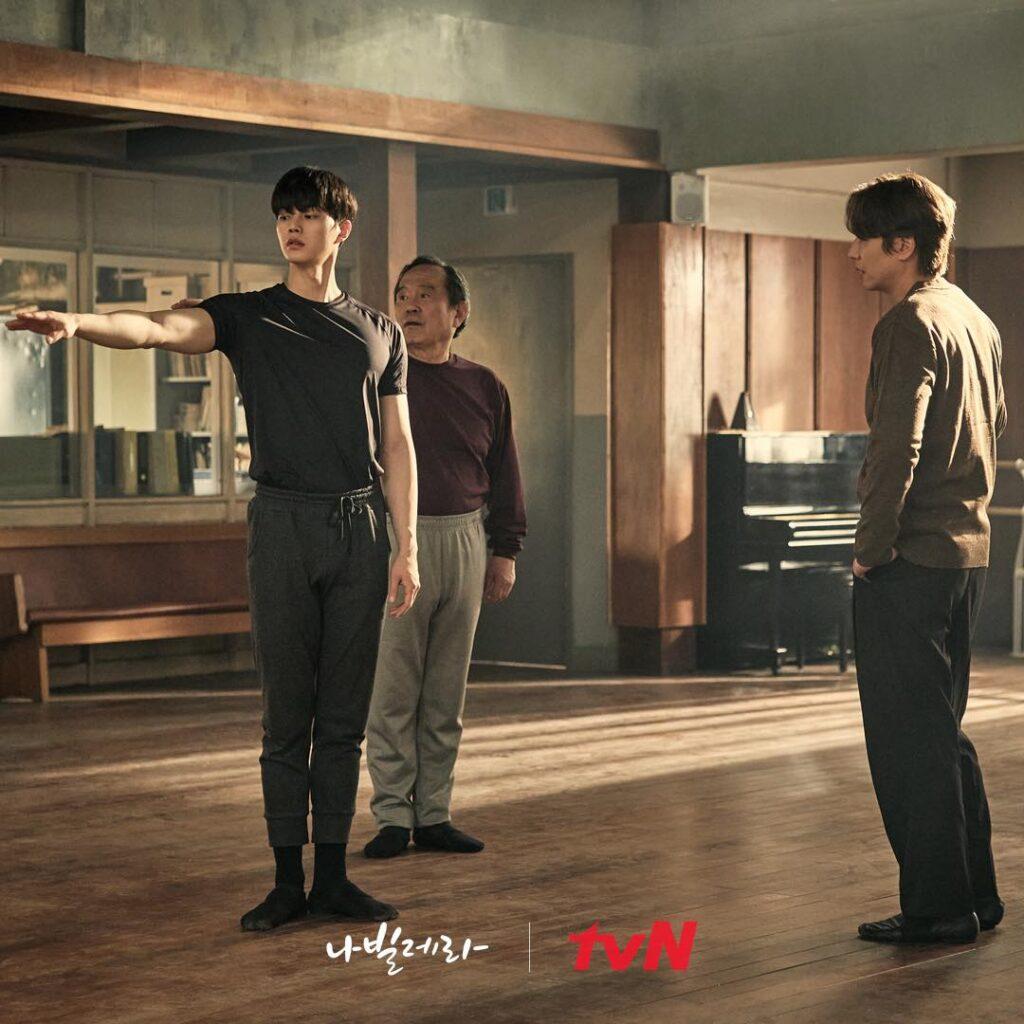 Navillera con Song Kang; el drama coreano de Netflix llega a su final esta semana.