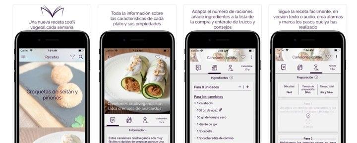 apps cocinar Vegamecum