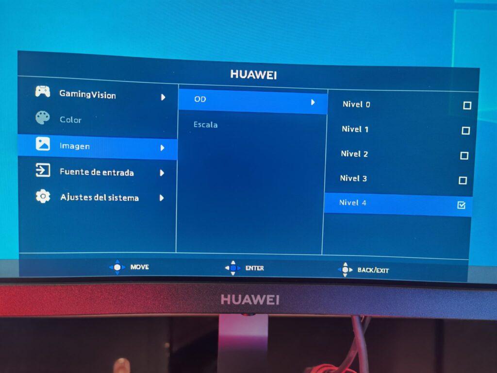 Huawei MateView GT OSD