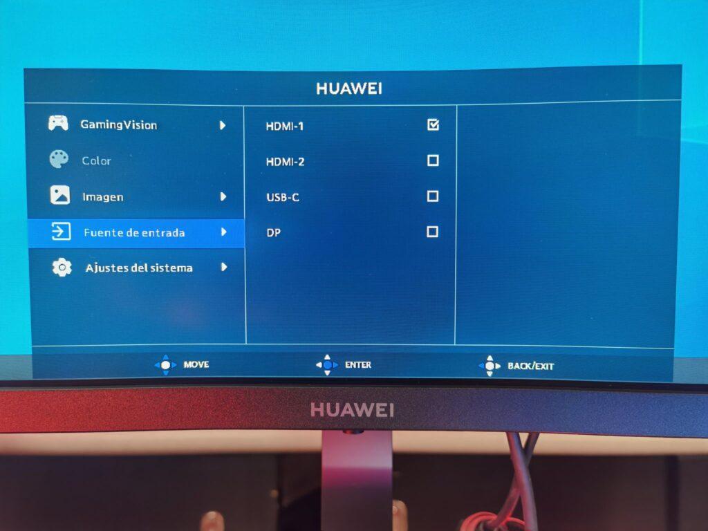 Huawei MateView GT OSD 05