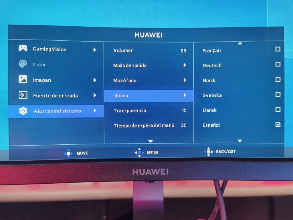 Huawei MateView GT OSD 04