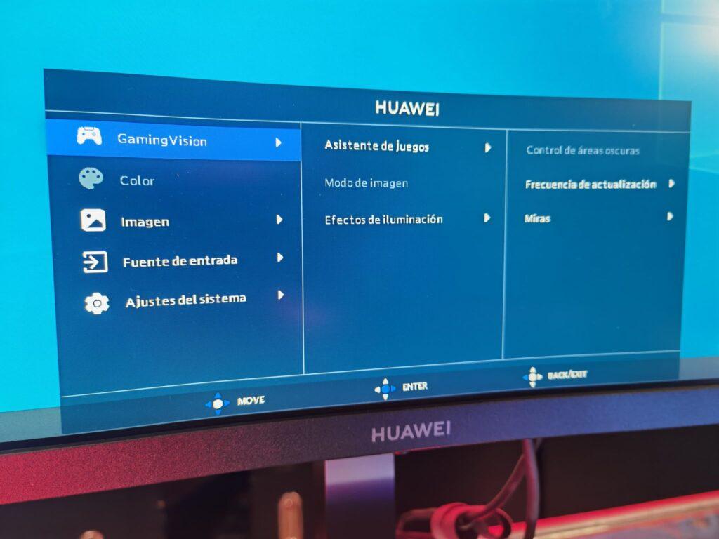 Huawei MateView GT OSD 02