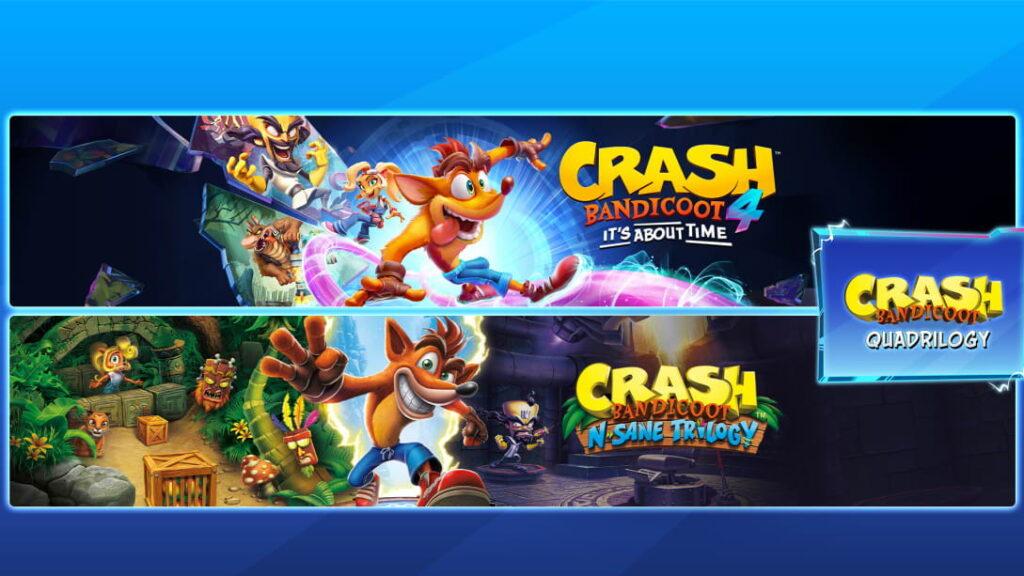 25 años de Crash Bandicoot