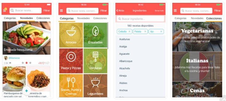apps cocinar hatcook