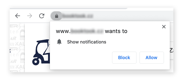 notificaciones de Chrome
