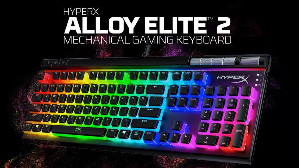 mejores teclados gamer Hyperx Alloy ekite 2