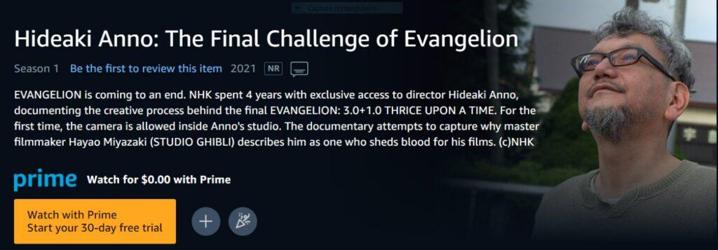"creador de ""Evangelion"""
