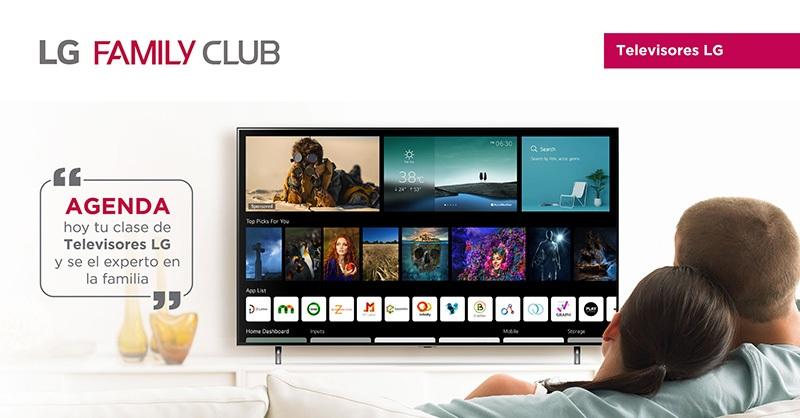 LG FAMILY CLUB consumidores televisores