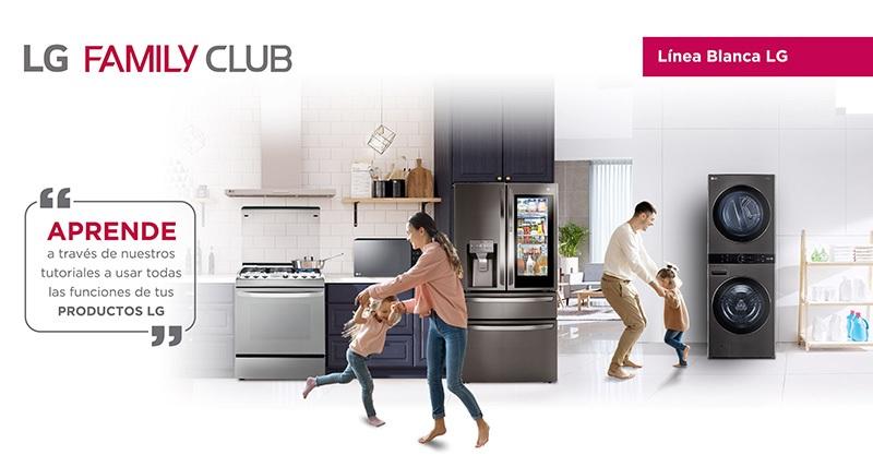 LG FAMILY CLUB consumidores línea blanca