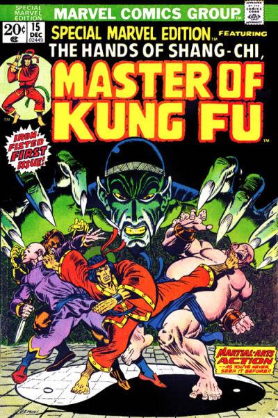 Shang-Chi cómics