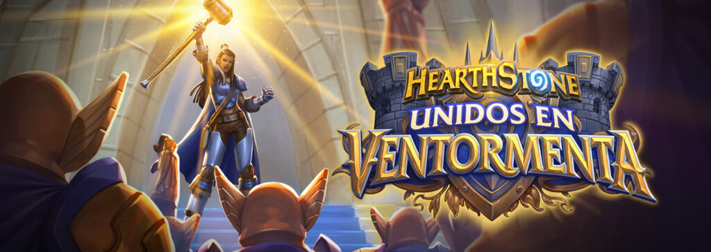United in Stormwind, the new Hearthstone expansion
