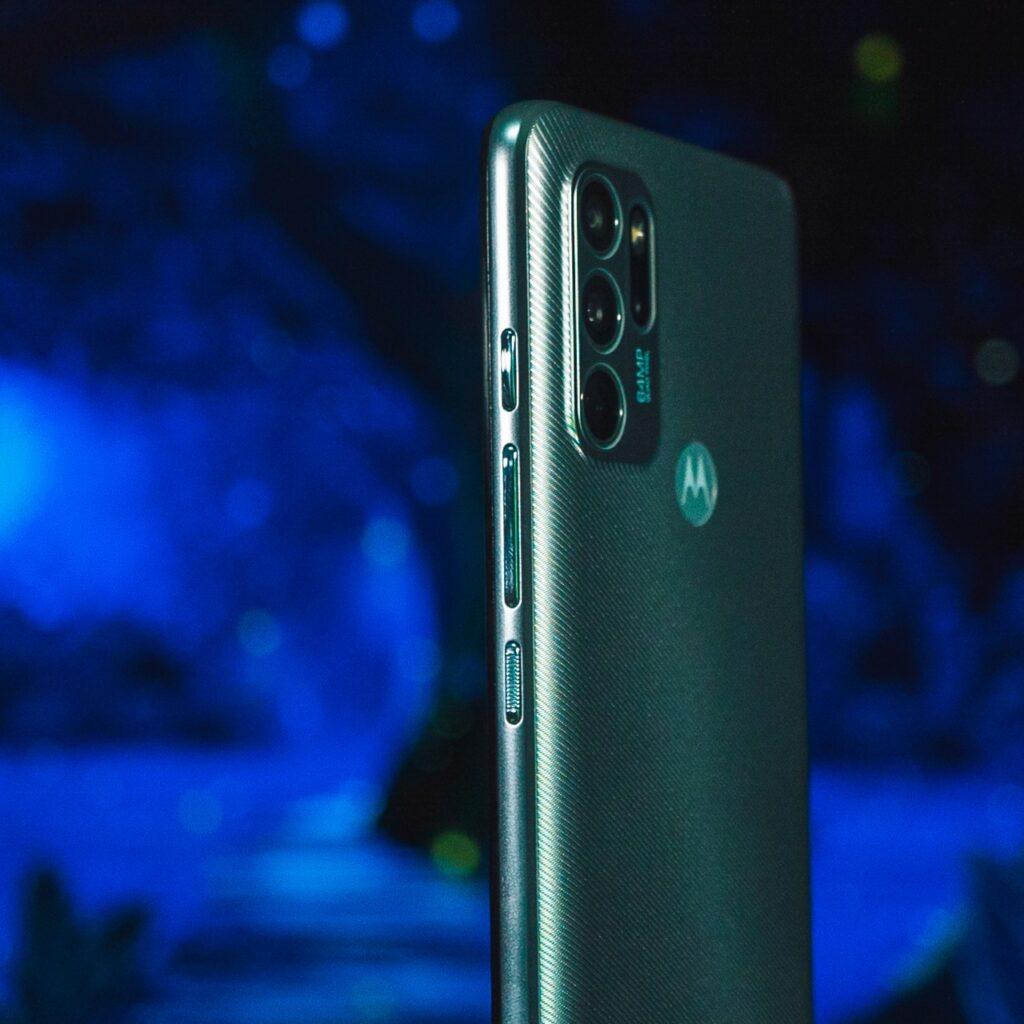 Motorola G60S - Cara Lateral