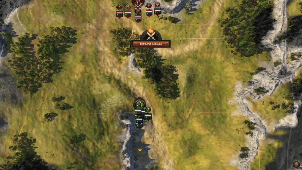 Total War Campo de Batalla.