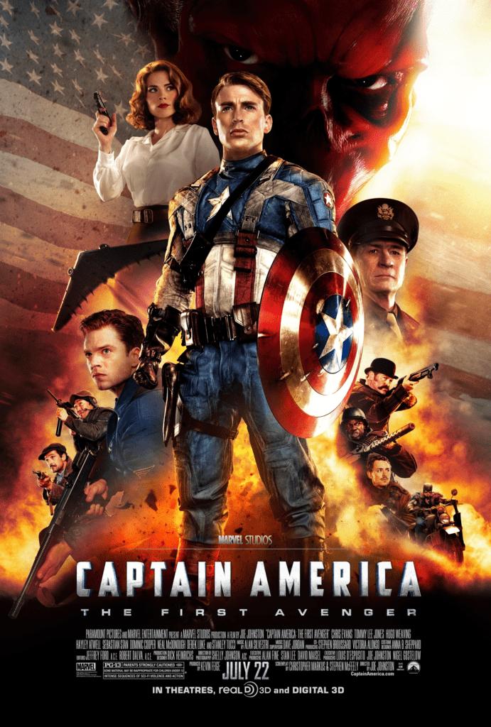 Capitán América primer película del MCU