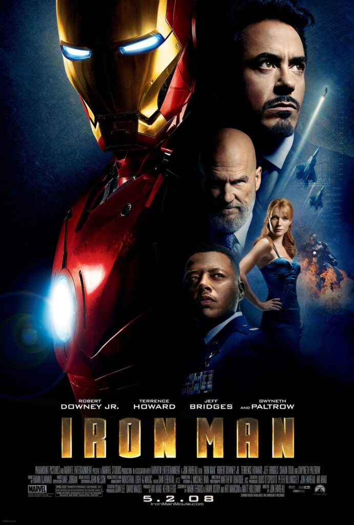 Iron Man Universo Cinematográfico de Marvel